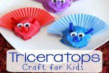 Prehistoric Crafts for Preschoolers