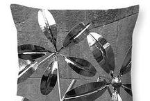 Monochrome artisan pillows / by Stevie The floating artist