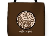 Artisan tote bags / Bags printed with artworks by Stevie the floating artist / by Stevie The floating artist