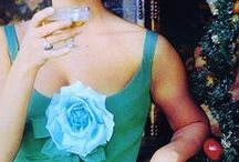 Put a flower on it. / How to wear flowers and look absolutely fabulous!