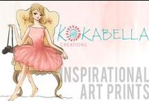Inspirational Art Prints / Inspirational and spiritual art prints created by Kokabella. / by Kokabella | Terry-Anne