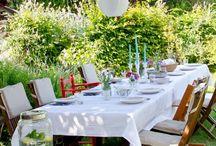 Draußen sein / Ob Gartenparty oder Kindergeburtstag, draußen macht gleich alles noch viel mehr Spaß.