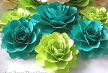 All About Flowers! / All About Handmade Flowers! / by Martha Galvez
