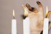 Flaming / fire and smoke. / by Jenny Goldberg