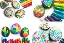 Craft Ideas / Creative DIY and Craft Ideas, Crafts for kids, Awesome art projects and crafts that kids can do - it is more about the process than the result!  arts and craft ideas.
