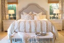 Bedrooms to Dream In / Bedroom decorating and design ideas....