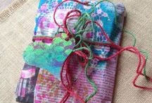 Gift Wrapping & Cards / Ideas for wrapping paper, gift tags and homemade cards. / by Claire Barber