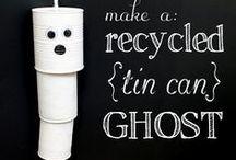 Have a Greener Halloween / Green Halloween tips. Find more on www.retrohousewifegoesgreen.com / by Lisa Sharp   Retro Housewife Goes Green