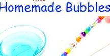 Homemade / Homemade products, homemade cleaners, gifts that kids can make and DIY toys for kids, Homemade art supplies