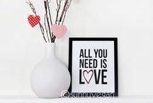 Valentine's Day / Valentine's Day crafts, decor, and gift ideas.