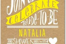 design: invites and announcements / beautifully designed invitations + announcements