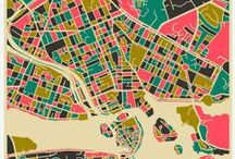 mapped / by Laura Fortner