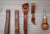 Leather Crafts / by Abbey Joyce