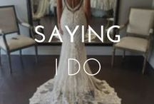 SAYING I DO / Everything weddings.....venues, flowers, cakes, color schemes, decorations, lights and of course wedding hairstyles!