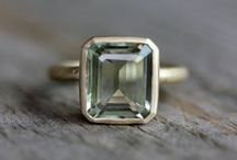 beautiful rings / emerald cut wedding rings and other classic designs