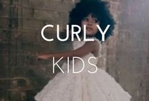 CURLY KIDS / Check out these beautiful styles for kids with naturally curly hair and straight hair.