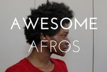 AWESOME AFROS / Afros are beautiful in all sizes!