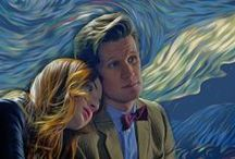 The Doctor + TARDIS / Anything that I like related to Doctor Who. #TARDIS #DoctorWho / by Alexis Nguyen