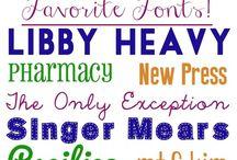 Free dowloadable fonts