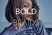 BOLD BRAIDS / We love braids! Learn to wear it on its own or check out these ways to style braids.