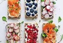 Snacks, lunch and dinner / recipes and pictures of food