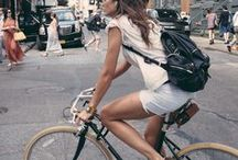 I want to ride my bicycle! / my favourite way of transportation