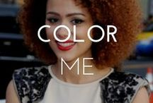COLOR ME / Love color? So do we! Check out this board of colorful hairstyles.