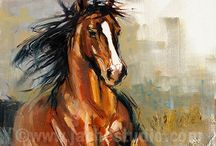 Horses / Inspiration for horse quilt and tote bags... I don't have a horse, but I do love them!