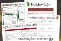 Holiday Planners / Christmas and Thanksgiving Planners / by Lisa Sharp   Retro Housewife Goes Green