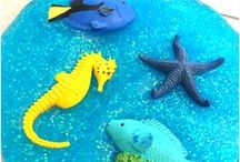 Under the Sea Theme / Ocean Theme, Under the Sea Theme, Under the sea crafts, Under the Sea Birthday party, Ocean Theme Preschool, Ocean Crafts, Ocean Theme Activities, Ocean Theme Lesson Plans