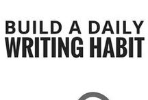 build a daily writing habit / how to build a daily writing habit, develop your writing ritual, morning routine for writers, maintaining a writing schedule, writer productivity, how to write every day