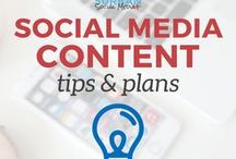 social media content and planning / social media editorial calendar, posting schedule, what to post on social media and when to post them