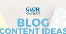 blog content ideas, tips, and plans / learn how to generate content ideas and blog post topics, create blog editorial calendars, plan blog content; blog checklists and content planning tolls and strategies