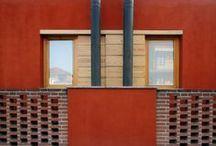 Casa Rossa / Casa Rossa, via Risorgimento 8, Trofarello. Progetto di Raimondo Guidacci, 2007. Vincitore di Architetture Rivelate 2009. © Beppe Giardino