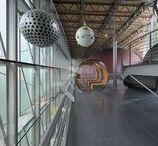 Planetario Museo dello Spazio / Planetario Museo dello Spazio, via Osservatorio, Pino Torinese. Progetto di Loredana Dionigio, Giancarlo Gonnet, 2007. Vincitore di Architetture Rivelate 2007.