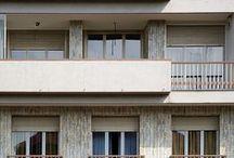 Casa Garavoglia / Casa Garavoglia, corso Galileo Ferrarsi 63/A, Torino. Progetto di Carlo Alberto Bordogna, 1950. Vincitore di Architetture Rivelate 2005. © Angelo Morelli, Archivio Bordogna