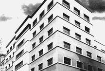 """Palazzo per uffici """"Gualino"""" / Palazzo per uffici """"Gualino"""", corso Vittorio Emanuele II, Torino. Progetto di Gino Levi Montalcini, Giuseppe Pagano Pogatschnig, 1930. Vincitore di Architetture Rivelate 2005. © Angelo Morelli"""