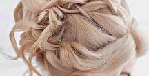 Unforgettable Updos / Updos that can go to the beach or down the aisle