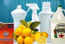 Homemade Solutions / Homemade cleaning products and tips for using fewer chemicals around the house.