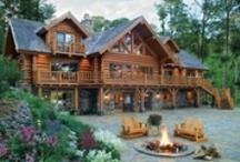 Log Cabin Love / If I had the money :)
