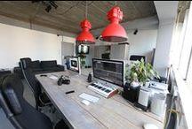 workspace / by Nikki Clark