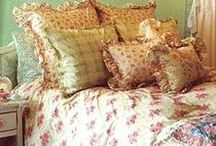 A Lovely Shabby Bed