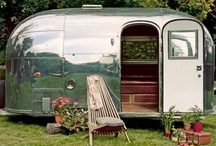 glamping / The outdoors in a stylish, comfortable, yet rustic way.