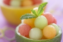 Desserts, sweets, fruit and candy! / by Jen DeRusha
