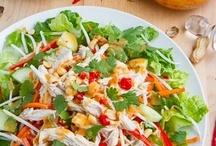 Recipes- Soup 'er Salad / by Stephanie Dearman