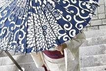 Japanese umbrellas and parasols