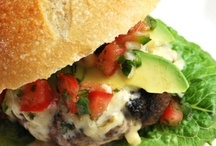 Recipes- Sandwiched & Wrapped / by Stephanie Dearman