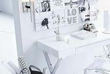 work spaces / by Susana Reeders