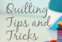 Quilting tips and short-cuts / Tutorials for quilting tips and short-cuts / by Amy Smart