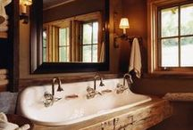 Lake House - main bath / main floor bath / by Kari Clevinger